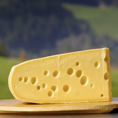 About Emmental cheese